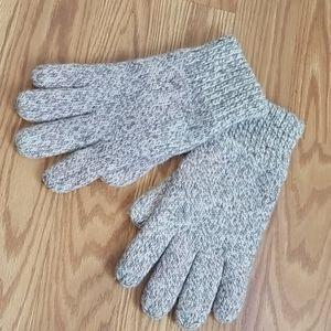 Cotton knit gloves